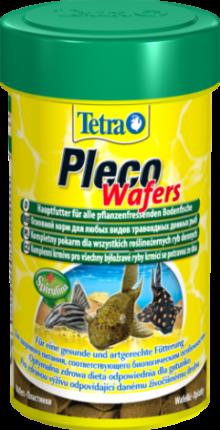 Корм для сомиков-присосок Tetra Pleco Wafer, таблетки, 250 мл