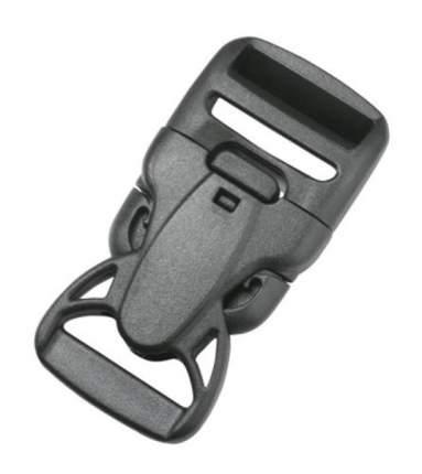 Duraflex фастекс с замком Double Lock Rock Lockster® 25 мм черн. 8429/8430