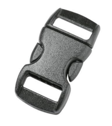 Duraflex фастекс браслетный Kitty Clip 10 мм черный 7261/7262