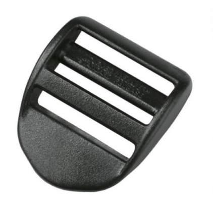 Duraflex пряжка трёхщелевая Curved L 25мм, черн.