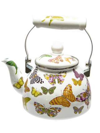 Чайник для плиты Mercury MC-7521 2,0 л. эмалированный