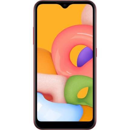 Смартфон Samsung Galaxy A01 16Gb Red (SM-A015F)