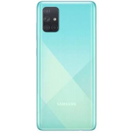 Смартфон Samsung Galaxy A71 128Gb Blue (SM-A715F)