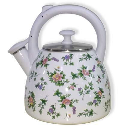 Чайник для плиты METALLONI EM-30001/56 со свистком Розмари 3,0л