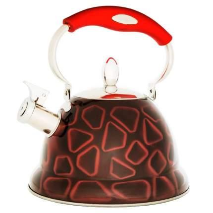 Чайник для плиты WEBBER ВЕ-573/1 3D склад ручка, 3л