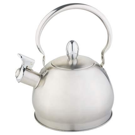 Чайник для плиты WEBBER ВЕ-0560 со свистком 2,0 л, индукция, складная ручка