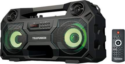 Магнитола Telefunken TF-PS1280B Black