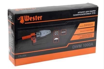 Сварочный аппарат для пластиковых труб Wester DWM1000A 159376