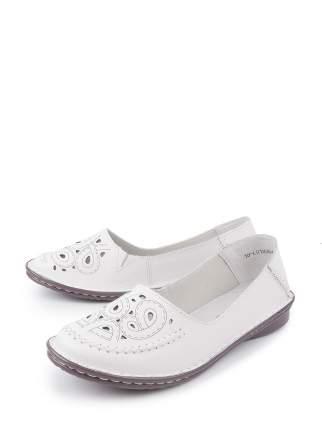 Туфли женские BERTEN 18-LQ18364-A3 белые 38 RU