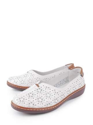 Туфли женские BERTEN 18-LQ18261-A3 белые 41 RU