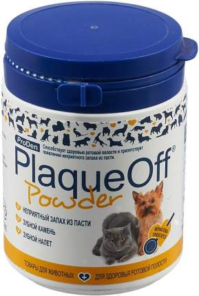 Средство для профилактики зубного камня у собак и кошек ProDen PlaqueOff, 40 г