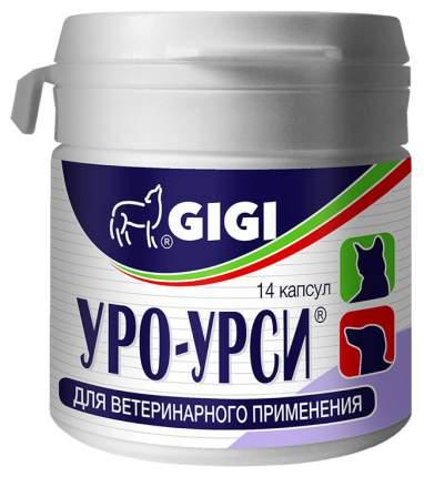 GIGI УРО-УРСИ для понижения рН, лечения МКБ, цистита кошек и собак 14 таб
