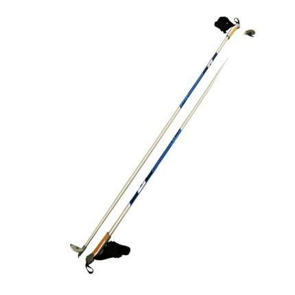 Палки лыжные STC 165 Cyber серебро деколь гибрид 60/40
