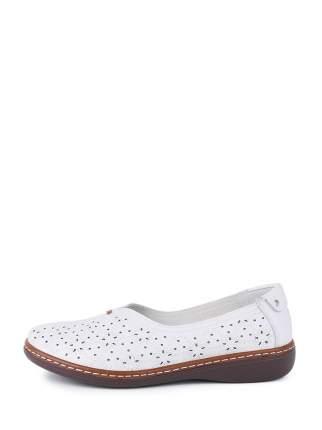 Туфли женские Estiva 18-17217 белые 37 RU