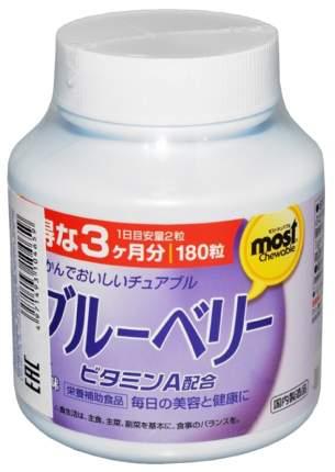 Орихиро Витамин А с черникой таблетки жеват. №180