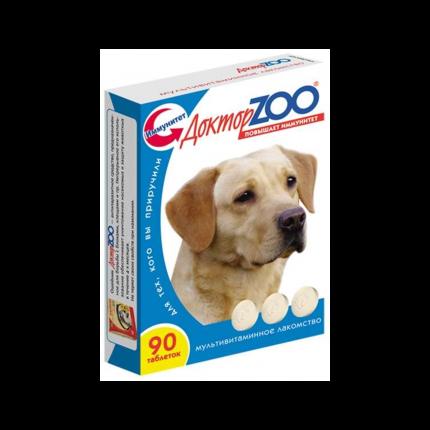 Витаминный комплекс для собак Доктор ZOO Здоровая собака, Морские водоросли 90 таб
