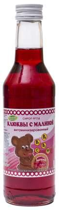 Сироп Клюква-Малина витаминизированный 330 мл