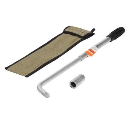 Ключ баллонный телескопический (17*19) в чехле AIRLINE AK-B-16