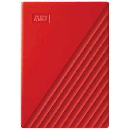 Внешний жесткий диск WD 4Tb My Passport Red (WDBPKJ0040BRD-WESN)