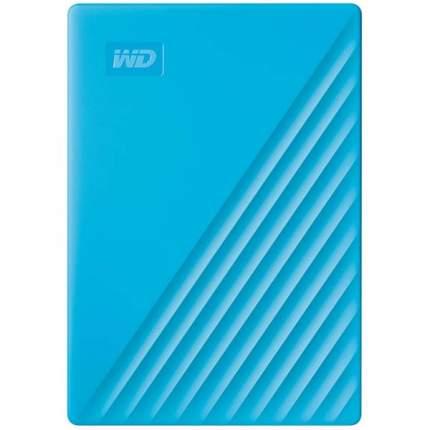Внешний жесткий диск WD 4Tb My Passport Blue (WDBPKJ0040BBL-WESN)