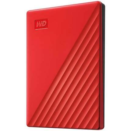 Внешний жесткий диск WD 2Tb My Passport Red (WDBYVG0020BRD-WESN)