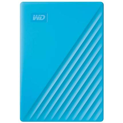 Внешний жесткий диск WD 2Tb My Passport Blue (WDBYVG0020BBL-WESN)