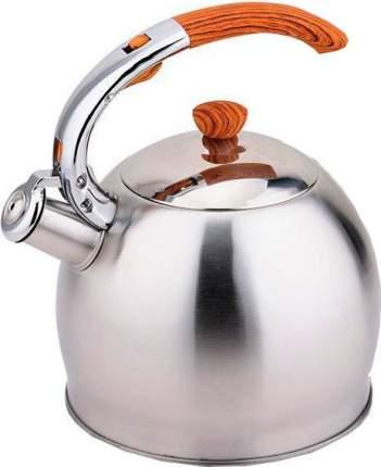 Чайник для плиты TECO TC-110 со свистком, нержавеющая сталь