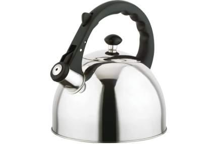 Чайник для плиты TECO TC-118 со свистком, нержавеющая сталь
