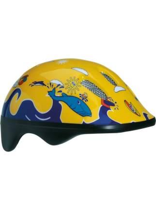 Велосипедный шлем Bellelli Дельфины, желтый/синий, M