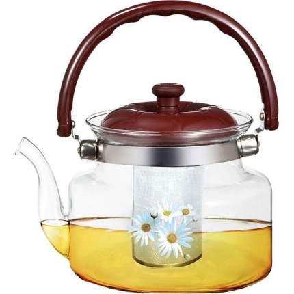 Чайник заварочный WEBBER BE-5585/4, Ромашки 1000мл (24)