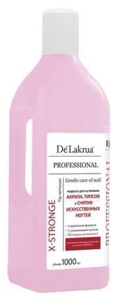 Жидкость для снятия лака De Lakrua Professional X-Stronge Tip Remover 1000 мл
