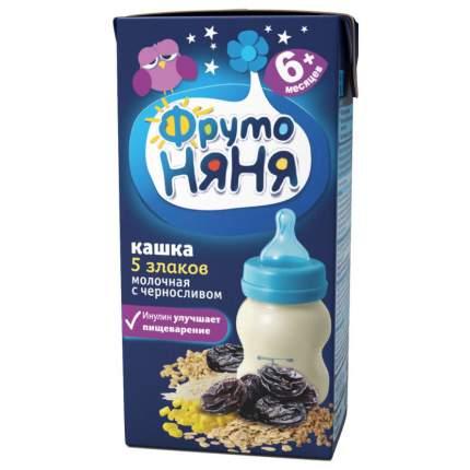 Каша молочная ФрутоНяня 5 злаков с черносливом с 6 мес. 200 г
