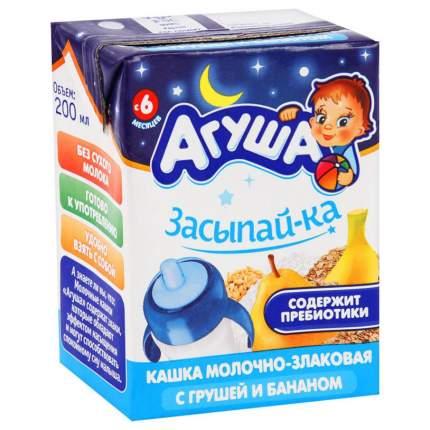 Каша молочная Агуша Злаковая с грушей и бананом с 6 мес. 200 г