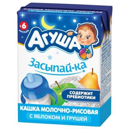Каша молочная Агуша Рисовая с грушей и яблоком с 6 мес. 200 г