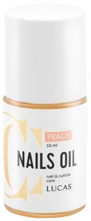 Масло для ногтей Lucas' Cosmetics Персик 30 мл