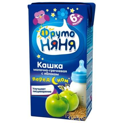 Каша молочная ФрутоНяня Гречневая с яблоком с 6 мес. 200 г