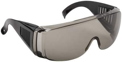 Очки защитные с дужками дымчатые FIT 12218
