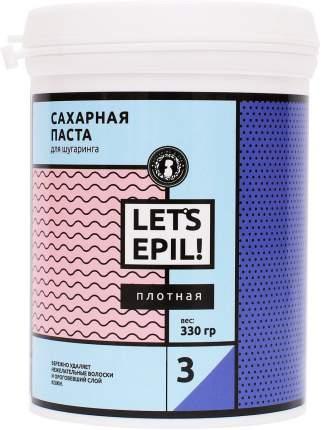 Сахарная паста для депиляции Плотная Let's Epil 0,33 кг