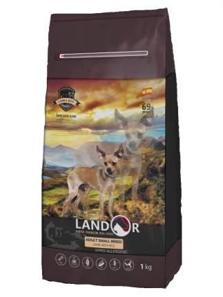 Сухой корм для собак Landor Adult Small Breed, для мелких пород, ягненок с рисом, 3кг