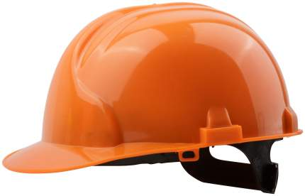Каска строительная оранжевая 12201