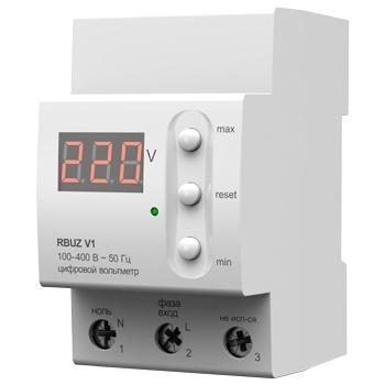 Вольтметр цифровой однофазный RBUZ V1