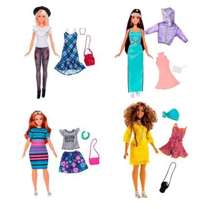Кукла Mattel Барби Игра с модой с набором одежды, в ассортименте