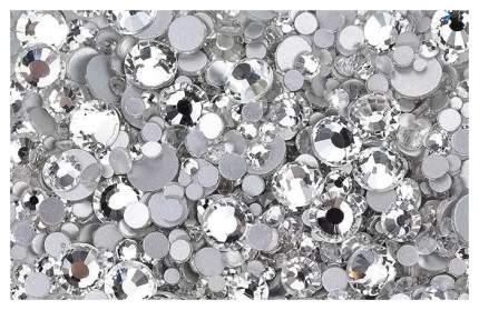 Стразы TNL Professional Кристалл mix Серебро