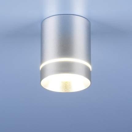 Накладной светодиодный светильник Elektrostandard DLR021 9W 4200K Хром матовый a037519