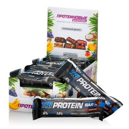 "Батончик ""IRONMAN"" ""TRI Protein Bar"", 50г (Шоколад/тёмная глазурь)(24 шт)"