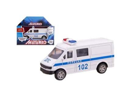 Металлическая машина Motorro Полиция 200253833