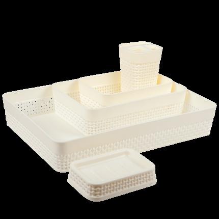 Набор для ванной комнаты Plast Team OSLO (5 пр.) PT1336МЛ-4