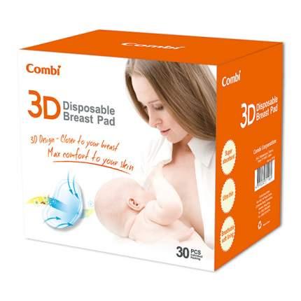 Вкладыши для бюстгальтера Combi 3D одноразовые для кормящих мам, 30 шт.
