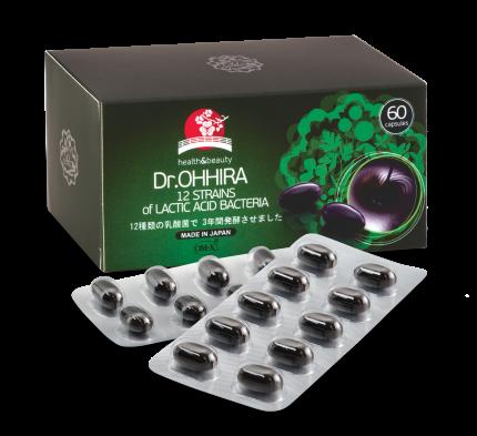 Ферментированный растительный комплекс OM-X Dr. Ohhira капсулы 60 шт.