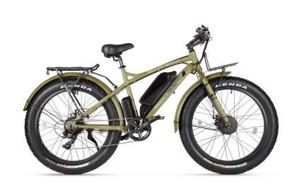 Электровелосипед Volteco Bigcat Dual New  (Коричневый)